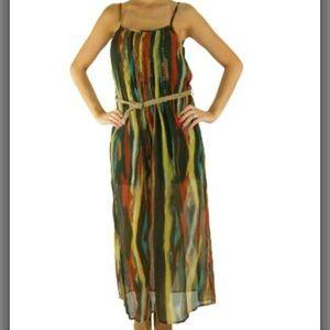 Jessica Simpson Transparent Maxi Dress!